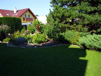 Zakládání okrasných zahrad